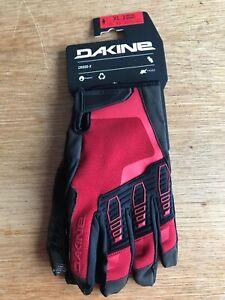 Dakine Cross-X Bike Glove Men's Deep Red XL New - T1