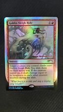 DCI Holiday 2015 Promo ** Goblin Sleigh Ride (FOIL) (NM/MT!) ** Mtg Magic