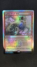 DCI Holiday 2015 Promo ** Goblin Sleigh Ride (FOIL) (NM/MT!) ** Mtg Magic