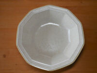 "Mikasa AVANTE IVORY FE900 Serving Vegetable Bowl 9 3/4"" 1 ea    2 available"