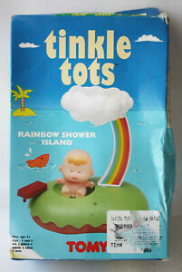 RARE VINTAGE 90'S TINKLE TOTS RAINBOW SHOWER ISLAND 6003 TOMY NEW UNUSED !