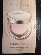 Amore Pacific Age Correcting Foundation Cushion Spf 25 - 6 shades Sealed New
