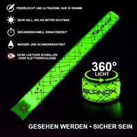 elanox LED Sicherheitslicht für Kinder Jogger Reflektorband Reflektor LEDarmband