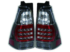 JDM Black LED Tail Lights for 2003 - 2009 4Runner Performance Upgrade Pair Set