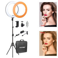 LED SMD Ring Light 5500K Continuous Lighting Kit for Camera Photography Makeup