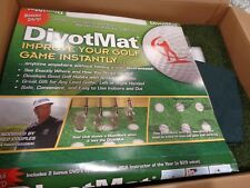 DivotMat Starter Set-Endorsed By Fred Couples-Mat,Pad,Strike Sheets,DVD,Bag-NEW