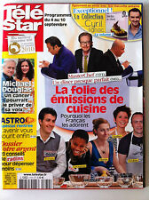 TV STAR of the 30/08/2010; Michael Douglas/ The madness of emissions cooking