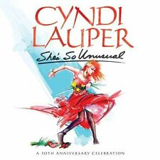 2014 CYNDI LAUPER SHE'S SO UNUSUAL 30TH ANNIVERSARY JAPAN 2 CD+DVD Japan