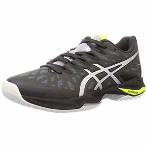 ASICS Volleyball Shoes V-SWIFT FF 2 Low 1053A017 Gray Silver US7.5(25.5cm)