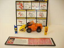 Vintage Hasbro 1987 Transformer Autobot Scoop, Lot 3/18, Complete, Orig. Owner