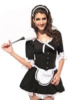 Sexy Women's Victorian Maid Woman's Fancy Dress Party Costume Role Play