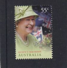 AUSTRALIA - 2010 QUEEN's BIRTHDAY Single 55c MNH  - Royal Family - Royalty