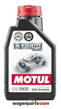 N1 litro aceite motor coche Motul Híbrido 0w20 100 Sintético coches Híbridos