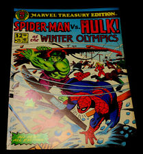 MARVEL TREASURY EDITION SPIDER-MAN VS. HULK! #25 AT THE WINTER OLYMPICS 1980 VF
