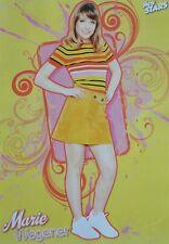 MARIE WEGENER - A3 Poster (42 x 28 cm) - DSDS 2018 Clippings Fan Sammlung NEU