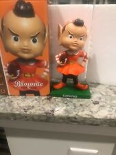 Cleveland Browns Brownie Elf Mascot Bobblehead Bobble Head NIB