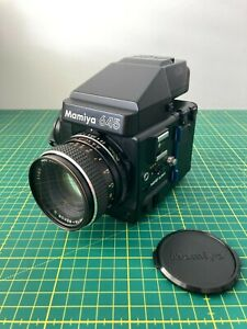 Mamiya M 645 Super with 80mm f/2.8C & 150mm f/3.5N lenses, includes grip, extras
