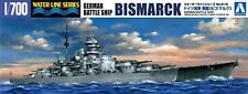 Aoshima Waterline 42595 German Battleship BISMARCK 1/700 scale kit