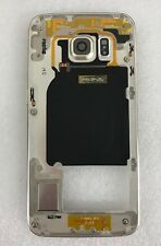 Genuine Samsung Galaxy S6 Edge G925F Middle Cover Frame GH96-08376C Gold (B3)