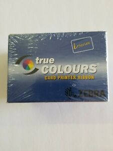 Zebra True Colours Card Printer Ribbon YMCKO 330 Images  800015-540 - NEW SEALED