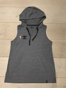 NBA x JACK DANIELS x NEW ERA Hooded Sleeveless Shooting Sweat - size XL