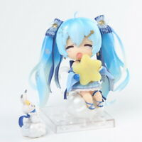 Anime model decorations Snow Hatsune Q version hand-made collectible decorations