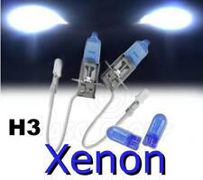 H3 55w Bombillas Para Faros Xenon Para Modelos Ford INFERIOR/CRUCE + FREE 501's