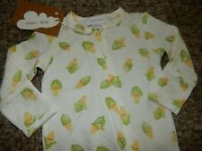 Nwt 0-3M Angel Dear Baby Corn Bamboo Footie Sleeper Outfit w/Mittens Beanie Hat