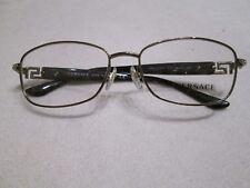 22f05b5ceca7 Versace brown tortoiseshell   gunmetal glasses frames. 1226-B. New.