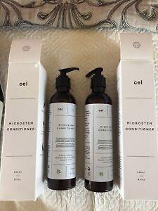 (2) NEW Conditioner Cel Microstem Natural Hair professional Biotin
