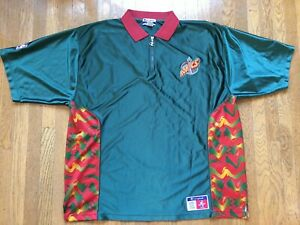 Vtg Seattle Supersonics SHOOTER SHIRT Warmup Sonics hat kemp 90s jersey XXL 2xl