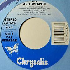 "Pat Benatar Sex as a Weapon EX Jukebox Strip & 45 7"" Vinyl Extra 45s Ship Free B"