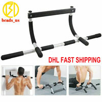 Doorway Pull Up Bar Chin Body Strength Exercise Door Mounted Workout Arm DHL/TNT