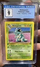 Nidoqueen 1st Edition Jungle Mint 9 CGC Pokemon #23