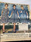 1961 APRIL 9 THE PHILADELPHIA INQUIRER NEWSPAPER CIVIL WAR I fashion 60s ads