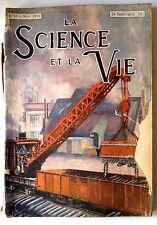 Science et vie n°41 du 11/1918; La culture des moisissures des livres et gravure