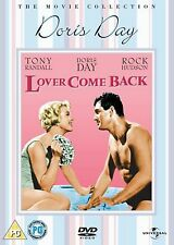 Lover Come Back DVD Film Doris Day Rock Hudson Original UK Release New Sealed R2