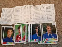 NEW Panini World Cup  France 98 Football Stickers - Finish your album - 1-100