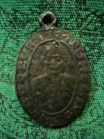 Coin LP Muang Wat Kung b.e.2463 Spiritual Talisman Thai Buddha Amulet Pendant