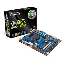 AMD FX-8120 EIGHT CORE CPU ASUS M5A99X EVO 990X 16GB DDR3 MEMORY RAM BAREBONE PC
