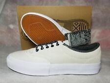 New Converse Crimson Gray Suede Ox Men Size 9 Black White Skate Shoe 153469C