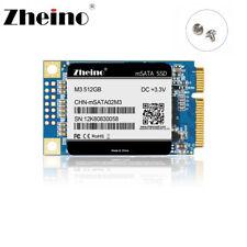 Zheino msata SSD 512gb Internal SSD Mini SATA TLC Solid State Drives Disk(512GB)
