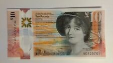 Royal Bank of Scotland New Polymer £10 Notes AC Prefix Issued Today 04/10/2017