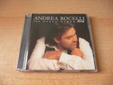 CD Andrea Bocelli - Aria - The Opera Album - 17 Songs - 1998
