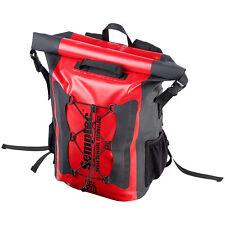 Fahrradtasche: Wasserdichter Trekking-Rucksack aus LKW-Plane, 20 Liter, IPX6