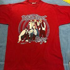 Vintage 1997 Backstreet Boys 1997 Tour Concert Promo Shirt Xl Tultex Original