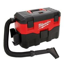 Cordless Wet/Dry Shop Vacuum Cleaner Portable Milwaukee M18 18-Volt Bagless Vac