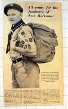 1955 Michael Clarke Senior Scout Third Greenford Middlesex Troop