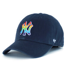 New York Yankees Hat Pride 47 Clean Up Mens Baseball Training Dad Cap OSFA Navy