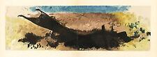 "Georges Braque lithograph ""La Charrue"""